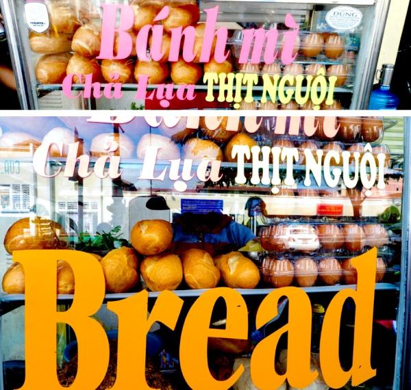 bánh mì cart of happiness