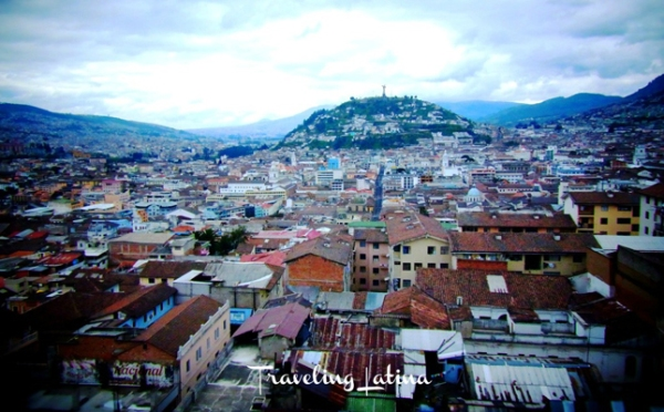 Quito by day (photo courtesy of Traveling Latina)