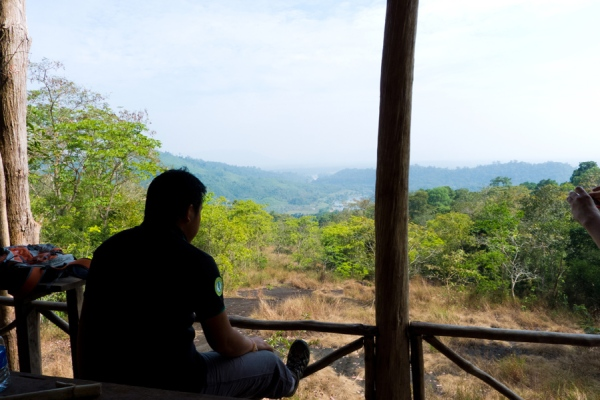 Vath enjoying the view