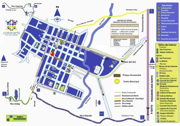 Cotacachi map