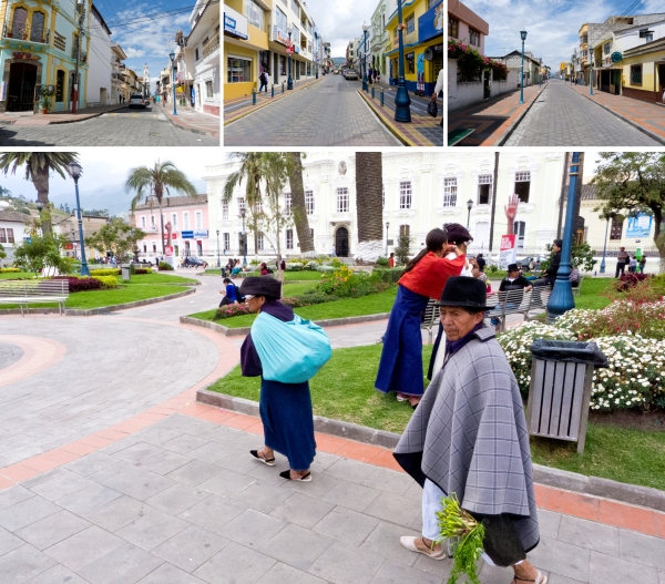 for those wanting an escape from cramped Quito, the Otavalo countryside if filled with sleepy open air plazas and quiet town streets
