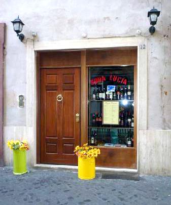 Ristorante Sora Lucia, Via Della Paneterria 12