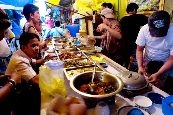 street stall dining