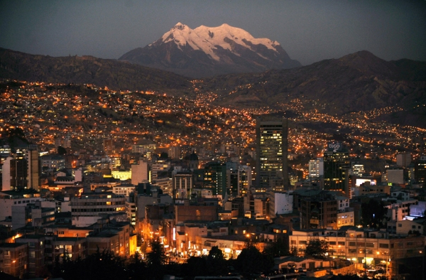 La Paz, my home for the summer. Photo by 4photos.net