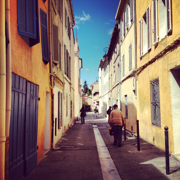 and as much as I love Paris, the pastel chipped and chalk colored streets of Aix-en-Provence have my heart
