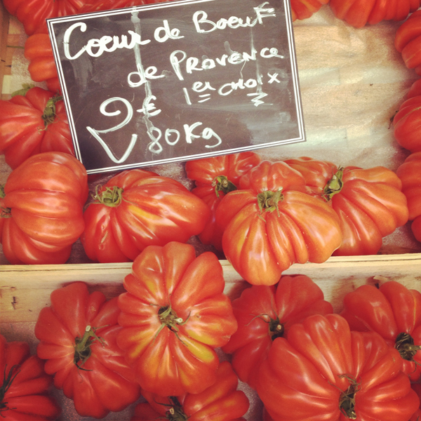 well, really, it may be the city's markets and tomatoes that do...