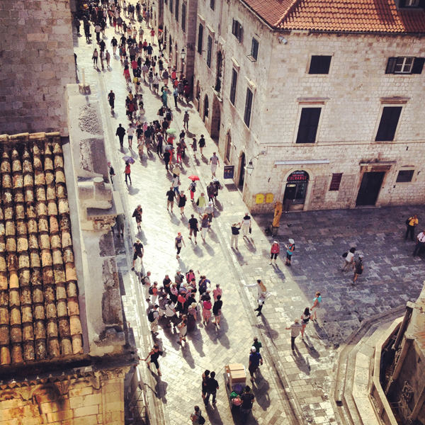 and then over to Dubrovnik to hang with the hordes