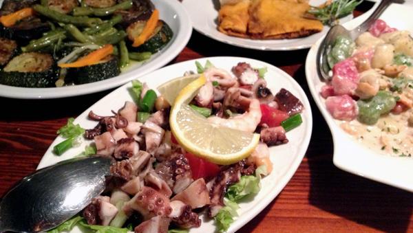 dinner at Konobo Menego