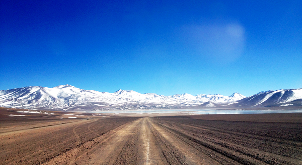 what you can expect to see as you begin the drive into Salar de Uyuni