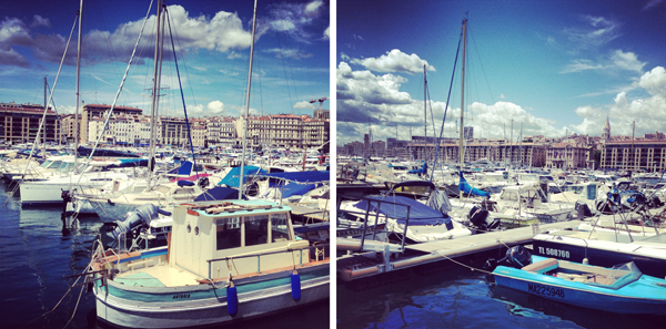 boats on boats at the Vieux Port