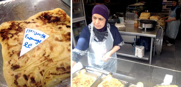 mahjouba, an Algerian specialty