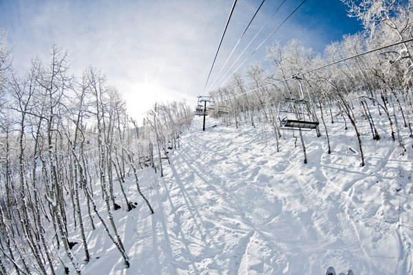 Fresh Park City powder (photo by Chris Giuliano)