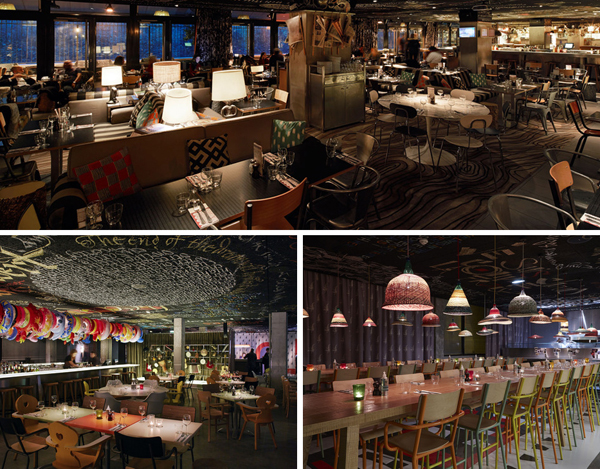 The restaurants at Mama Shelter Paris and Bordeaux  (photos courtesy of Mama Shelter)