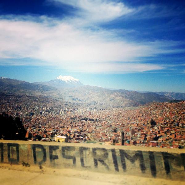 ... before returning back to bustling La Paz.